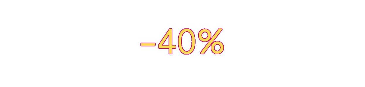 Destockage - 40%