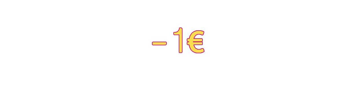 Moins de 1€