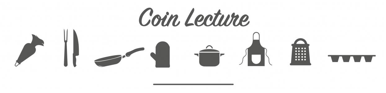 Coin lecture, un large choix de recette de cuisine !
