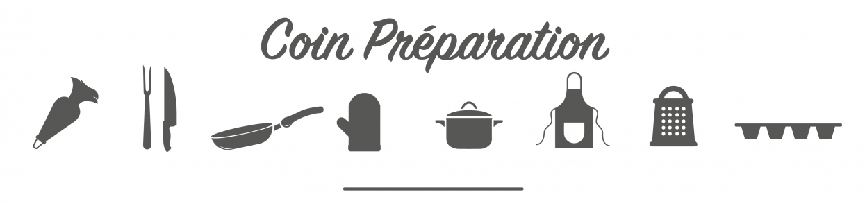 Ustensiles de dressage de cuisine professionnel