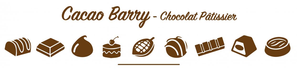 Cacao Barry Gamme 1kg - chez Poubeau