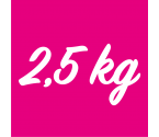 Gamme 2,5 kg