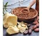 Poudre et beurre de cacao