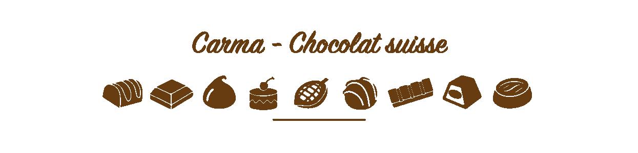 Gamme Carma - Chocolat Suisse