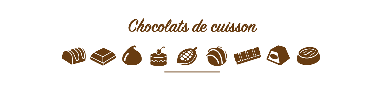 Chocolats de cuisson