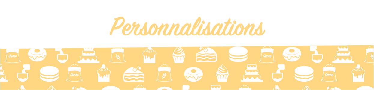Personnalisation alimentaire - Boutique Poubeau