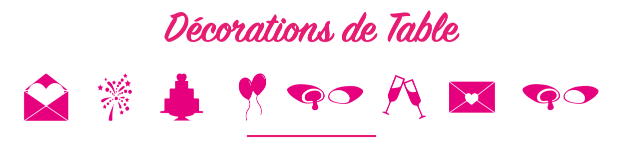 décoration mariage, deco bapteme, decoration communion, pour créer une décoration de table mariage à votre image