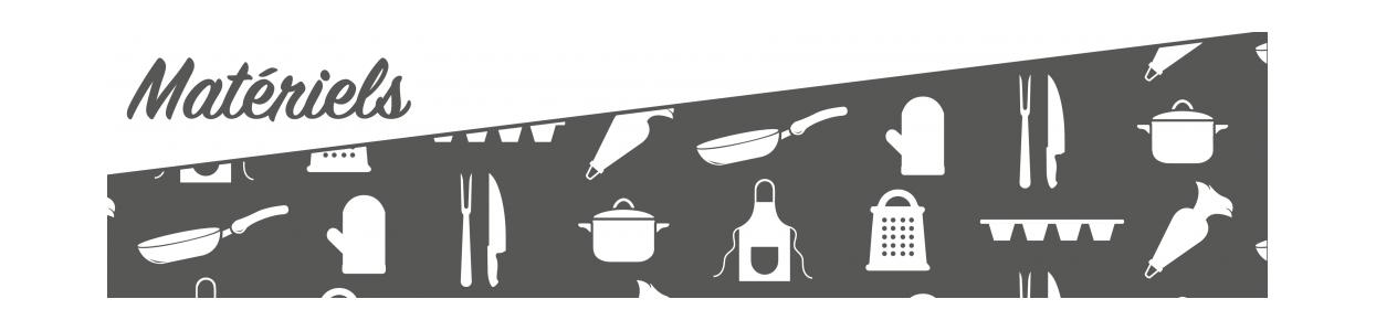 Matériels de cuisine professionnel, mobiliers en inox, d'équipements professionnels pour métiers de la bouche.